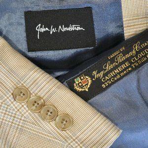 44L John W Nordstrom Loro Piana CASHMERE blazer